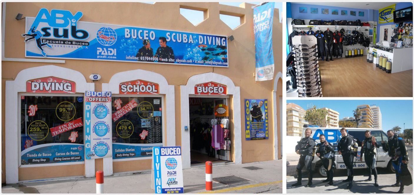 Scuba diving Málaga