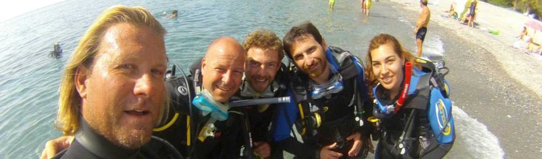 scuba diving, scuba diving school in malaga